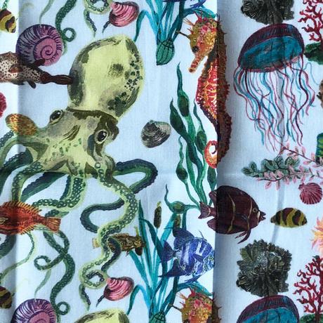 83SELECT / Nathalie Lete ハンカチオーシャン  Ocean