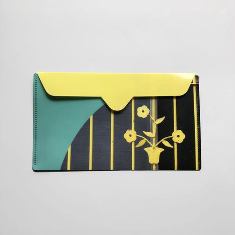 鉄窓花書房 tamazo /  鉄窓花書房マスクケース|竹南・黄色