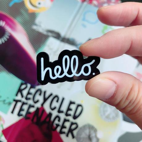 hello badge - Apple Ver. -/ 83 original