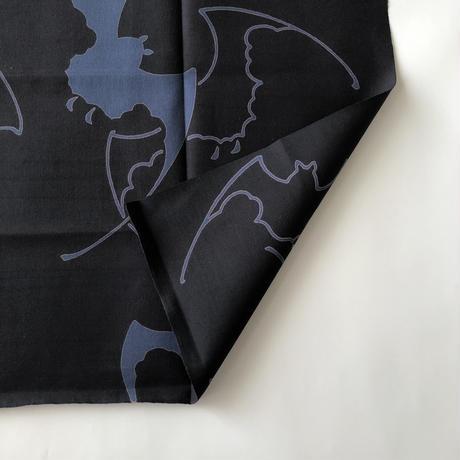 83SELECT / 手ぬぐい ゆかた地 蝙蝠 (注染)