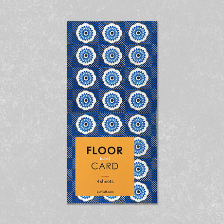 FLOOR CARD・East / Kuff Luff