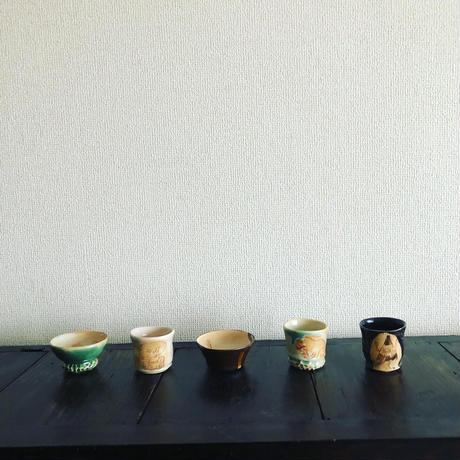 田川亞希 / 妖怪ぐい呑み|5-Type