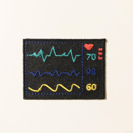 83SELECT / 刺繍ワッペン [ 病院 ] |4-Type