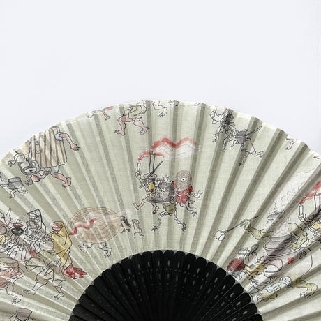 83SELECT /  扇子 湯本豪一コレクション 妖怪づくし 百鬼夜行 2-Color