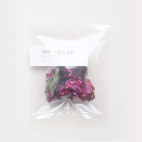 Shirakaba lab / Herbal tea Tea bag  ローズピンク [ Blend-Rose ]