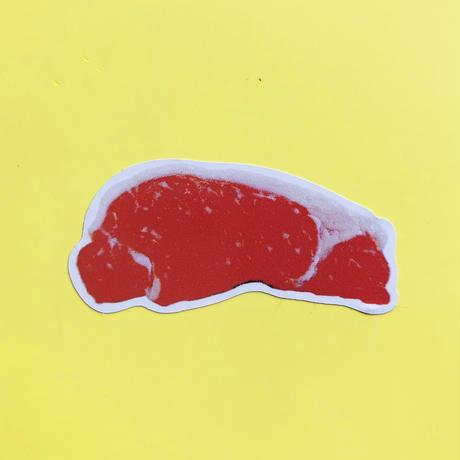 83 original / 肉セット カード&シール サーロイン