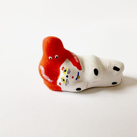 habotan / タコのひざ枕|土人形