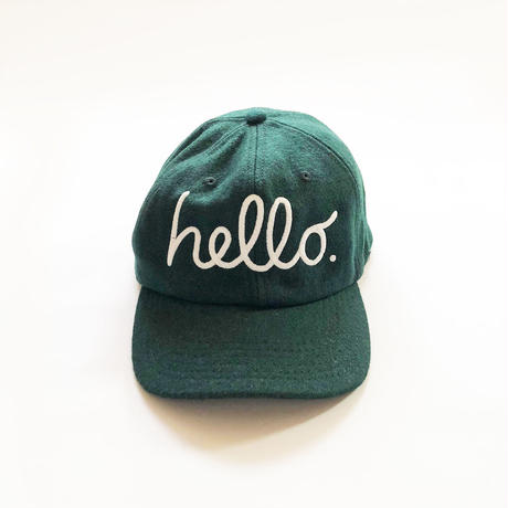 hello Wool CAP - Apple Ver. - 4-Color/ 83 original