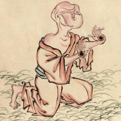 怪奇 里紗 / 妖怪ブローチ・マグネット 手の目