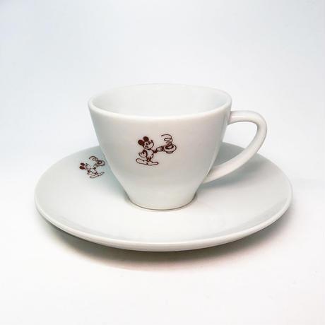 Mickey Cup & Saucer  [個物] / 永井ミキジ