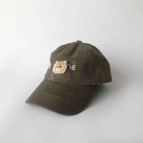 nekomotion / 刺繍CAP 隕石|猫