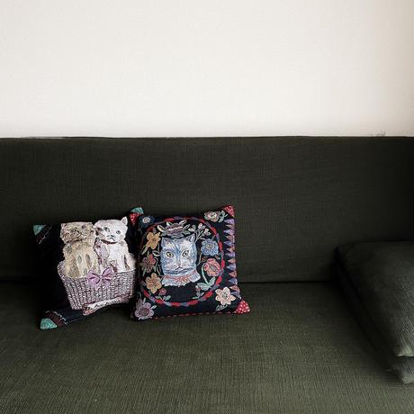 83SELECT / Nathalie Lete Cover Blue Cat  |マルチカバー