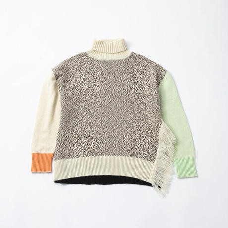 TRICOTE / Melange Sweater Orange