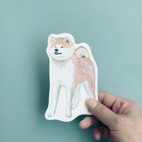 83 original  /マサオ 秋田犬 ポストカード