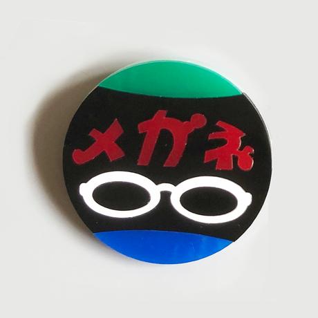 卒業生代表 / アクリル看板バッジ  [メガネ]  4-Color