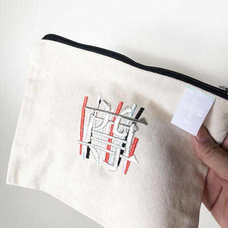 刺繍ポーチ  Makeup bag[  Medium]/83