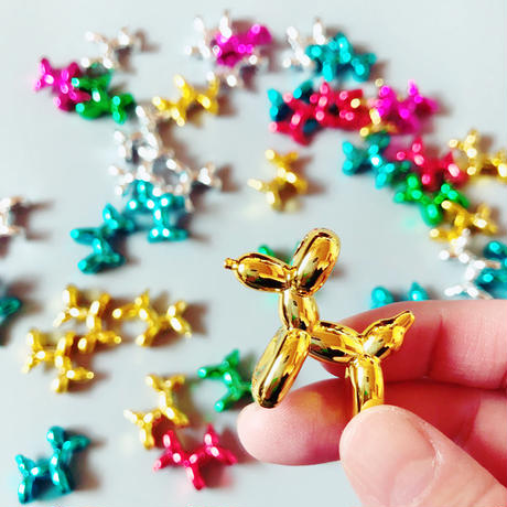 83 original / Balloon Dog Brooch  バルーンドッグブローチ|6-Color