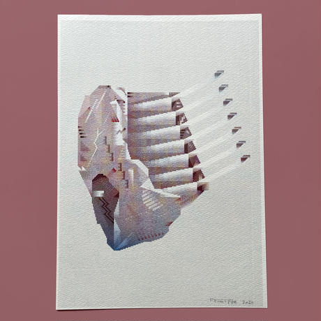 ヘルミッペ / リソグラフ ポスター|羊の肋肉