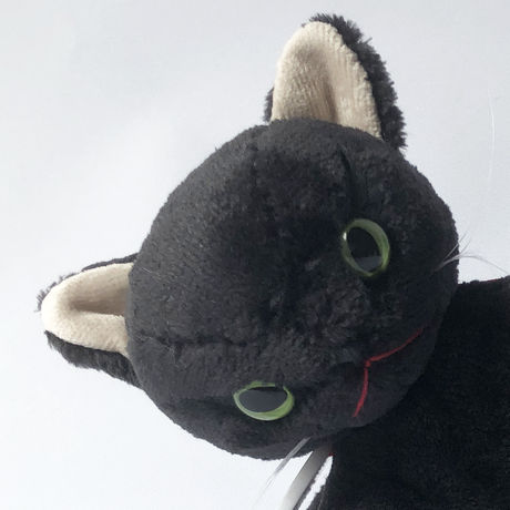 牛乳屋  /  甘えん坊の黒ネコちゃん