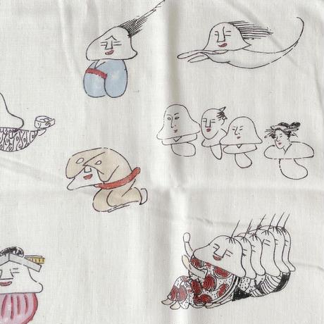 83SELECT / 手ぬぐい 湯本豪一コレクション 妖怪づくし |人面草紙