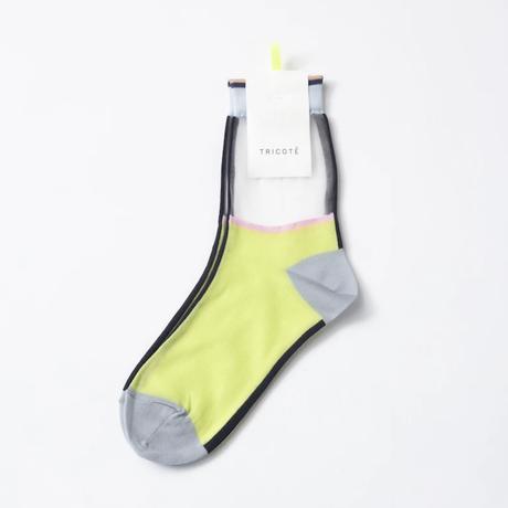 TRICOTE / SHEER LINE SOCKS  |2-Color