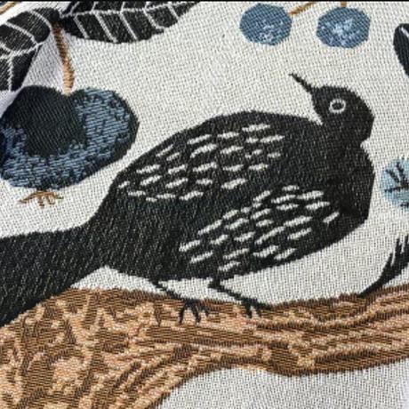 83SELECT / Miyuki Matsuo Tapestry woven blanket birdtree  [松尾ミユキ]