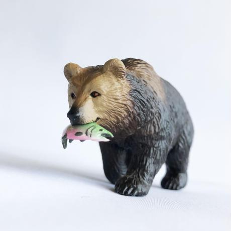 83SELECT / フィギュア Grizzly  Bear Figure グリズリー(ハイイログマ) [Safari]
