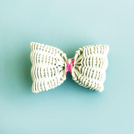 YOSHIKO /  Rattan Ribbon Brooch 小 2-Color