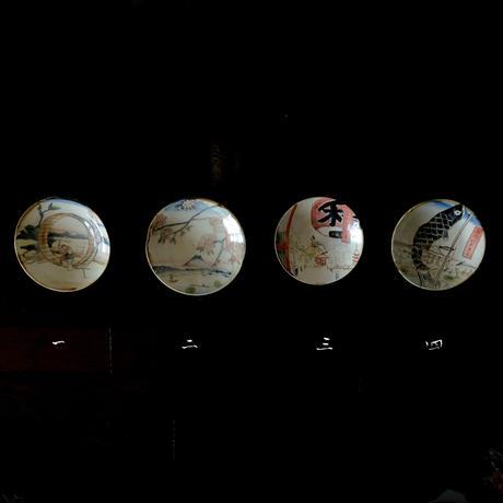 田川亞希 / 浮世絵風景 5寸皿|4-Type