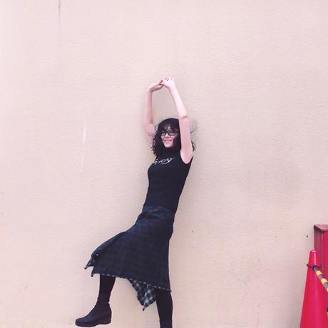 裏地がチェック! アシンメトリースカート/Vivienne Westwood