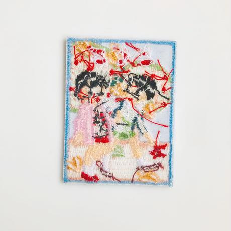 83SELECT / 刺繍ワッペン [ よみかき ] |2-Type