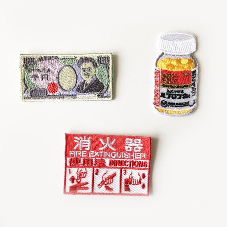 83SELECT / 刺繍ワッペン [ 安心 ] |3-Type