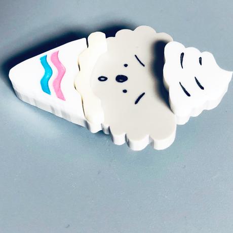 りかちゃん / KOARA CREPE ブローチ