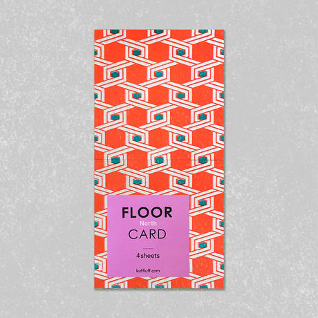 FLOOR CARD・North / Kuff Luff