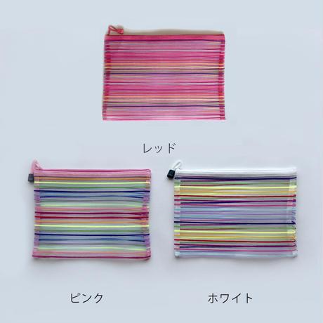 鉄窓花書房 tamazo /  台湾 メッシュポーチ M|5-Color