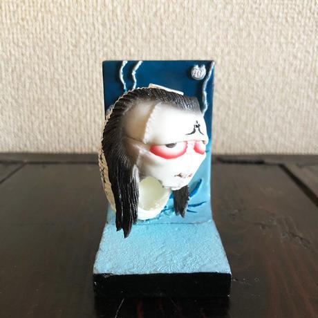 怪奇 里紗 / 葛飾北斎  - 立体お岩提灯 -