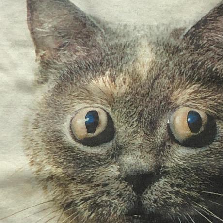 うつゆみこ / 蛸目猫 ロンTEE  ビッグシルエット