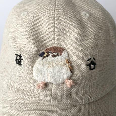 nekomotion / 刺繍CAP 硅谷|雀(シリコンバレー)
