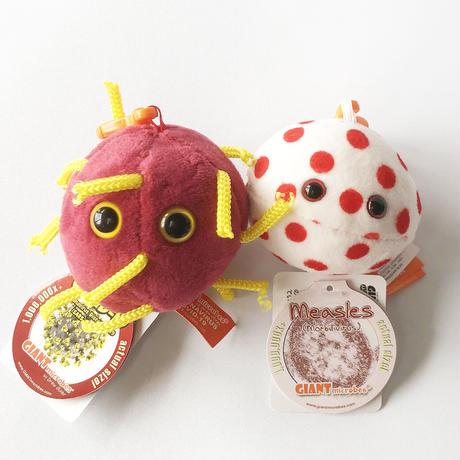 83SELECT / キーチェーン 菌 コロナ・はしか |GIANTmicrobes