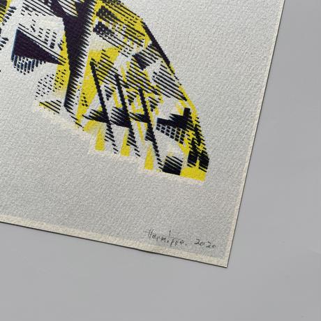 ヘルミッペ / リソグラフ ポスター ウンモンスズメ
