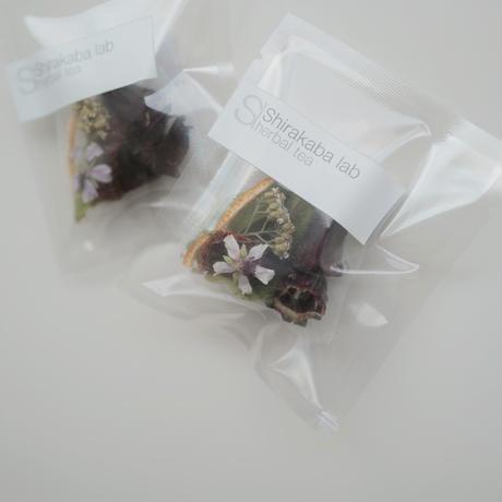 Shirakaba lab / Herbal tea Tea bag ハイビスカス  [ Blend-Beauty ]