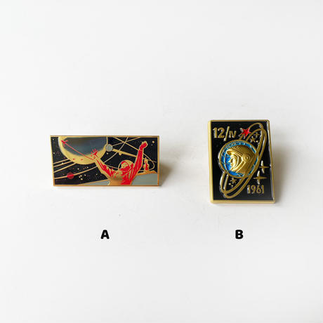 83SELECT /  PINS  ガガーリン  ピンバッジ|2-Type