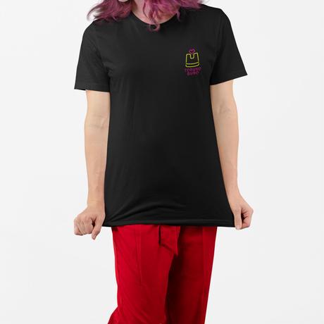 はらわたちゅん子 / 刺繍Tシャツ TORUKOBURO スケベ椅子