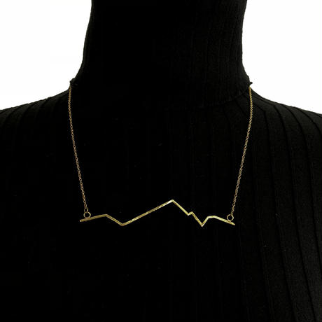 INTZUITION Beats M Necklace  Brass