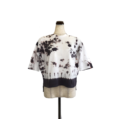 suzusan Cotton Dual-Layered 3/4 Sleeve T-Shirt