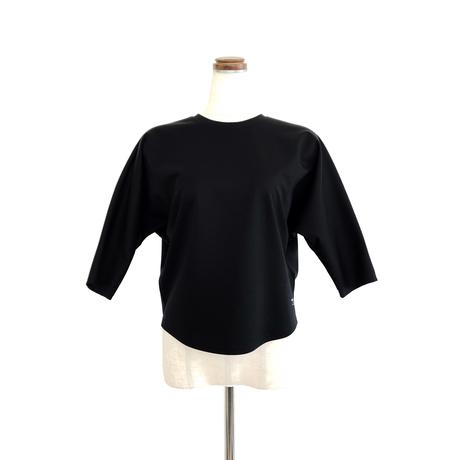 support surface サポートサーフェス 3/4ドルマンスリーヴTシャツ Black