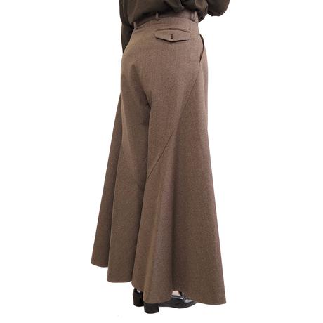 support surface サポートサーフェス ウール・スカートパンツ
