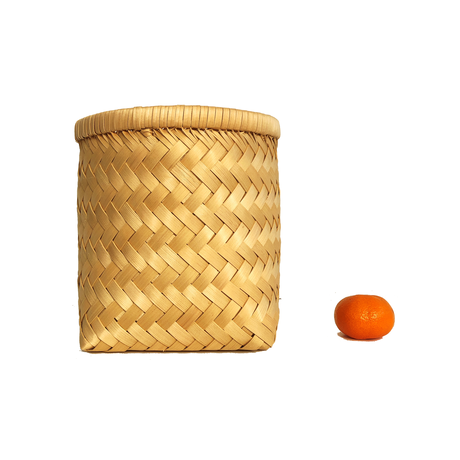 Cul de Sac(カルデサック) 青森ヒバ籠 筒型Medium