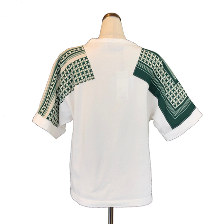 hache (アッシュ) パッチT-shirt