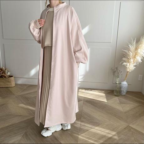 スタンドカラーlong coat